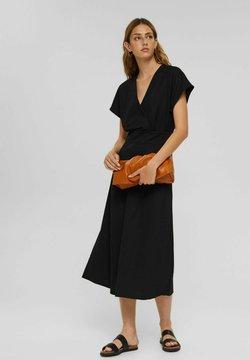 Esprit Collection - WRAP - Maxikleid - black
