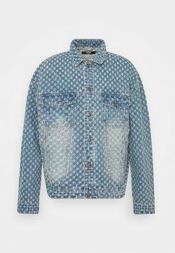 Jaded London - PULLED JACKET - Veste en jean - light blue