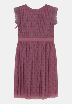 Anaya with love - PRINTED DRESS WITH BOW BACK - Cocktailkleid/festliches Kleid - purple