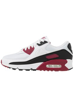 Nike Sportswear - AIR MAX 90 - Baskets basses - white/chile red/black
