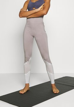 South Beach - SEAMLESS SMOKEY LEGGING CUT SEW - Medias - lilac