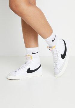 Nike Sportswear - BLAZER MID '77 - Sneaker high - white/black/sail blanc