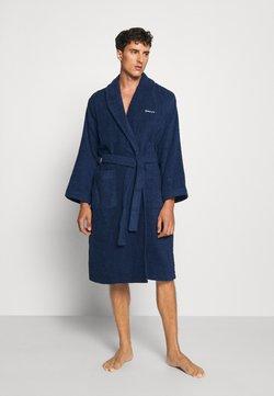 GANT - ORGANIC BATHROBE - Dressing gown - yankee blue