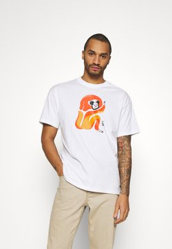 Nike SB - SKATE UNISEX - T-Shirt print - white