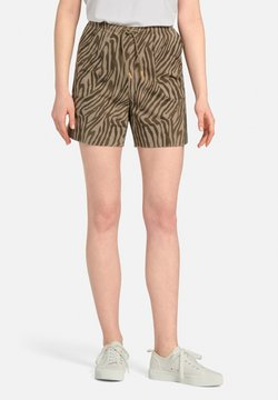 MARGITTES - Shorts - taupe/schwarz