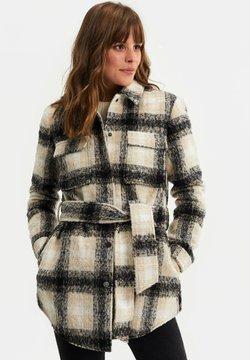 WE Fashion - Wollmantel/klassischer Mantel - off-white