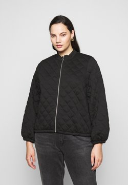 Noisy May Curve - NMEMILIA - Giubbotto Bomber - black