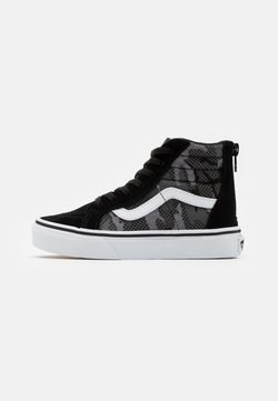 Vans - SK8 ZIP - Sneakers hoog - black/true white