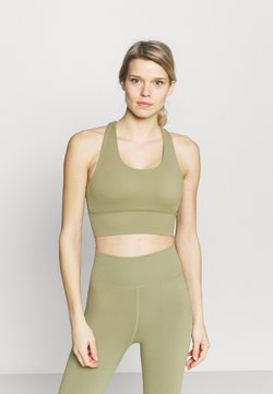 Cotton On Body - ULTIMATE LONGLINE CROP - Sport-BH mit leichter Stützkraft - oregano