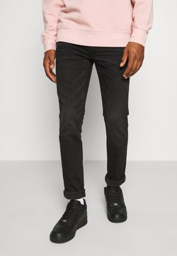 American Eagle - CLEAN - Slim fit -farkut - black wash