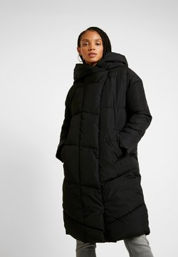 Noisy May - NMTALLY LONG JACKET - Wintermantel - black