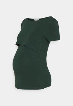 Anna Field MAMA - T-Shirt basic - dark green
