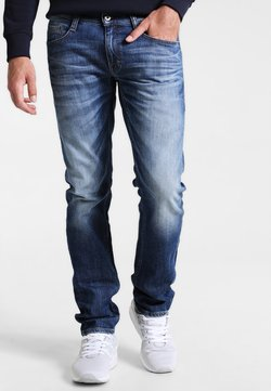 Mustang - OREGON TAPERED - Jeans Tapered Fit - light scratched used