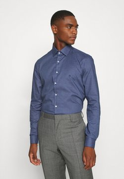 Calvin Klein Tailored - STRUCTURE EASY CARE SLIM SHIRT - Businesshemd - blue