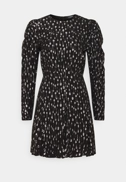The Kooples - ROBE - Cocktailkleid/festliches Kleid - black / silver
