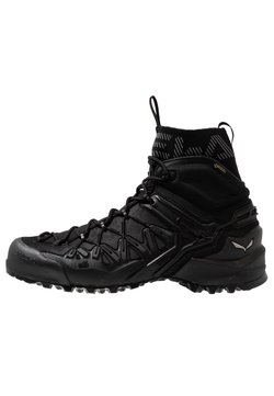 Salewa - WILDFIRE EDGE MID GTX - Hiking shoes - black