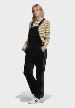 adidas Originals - DUNGAREE SPORTS INSPIRED BODYSUIT TANK - Salopette - black