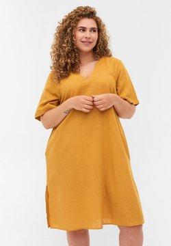 Zizzi - Vestido ligero - honey mustard