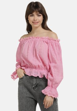 myMo - BLUSE - Bluse - pink