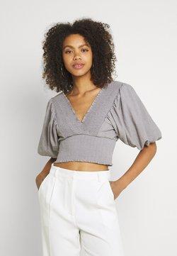 River Island - T-Shirt print - grey