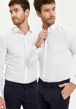 DeFacto - PACK OF 2 - Businesshemd - white