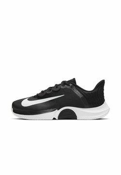 Nike Performance - COURT AIR ZOOM GP TURBO - All court tennisskor - black/white