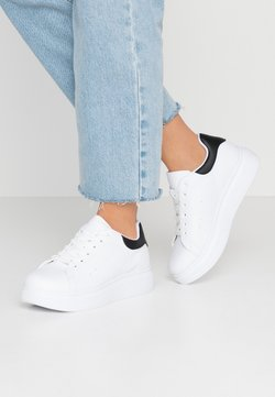 Nly by Nelly - PERFECT - Zapatillas - white/black