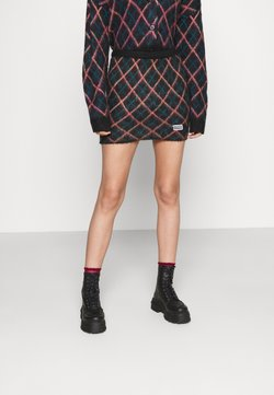 The Ragged Priest - BUMPS SKIRT - Minihame - black