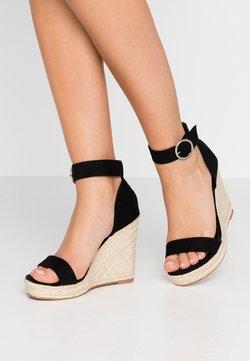 ONLY SHOES - Højhælede sandaletter / Højhælede sandaler - black