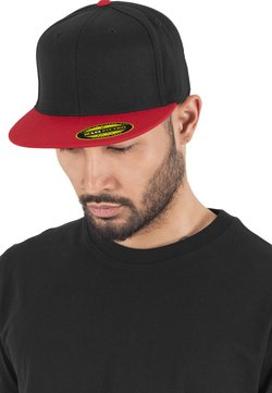 Flexfit - Cappellino - blk/red