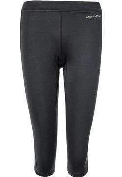 Endurance - TIGHTS ZENTA 3/4 - Shorts - black