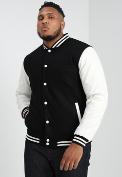 Urban Classics - OLDSCHOOL COLLEGE JACKET  - Veste légère - black/white