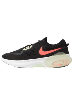 Nike Performance - JOYRIDE  - Chaussures de running neutres - black/laser crimson/olive aura