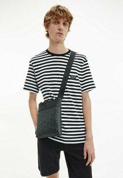 Calvin Klein - T-Shirt print - stripe black white