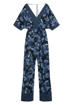 ORSAY - Jumpsuit - blue flower
