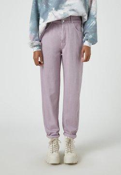 PULL&BEAR - Jeans baggy - dark purple