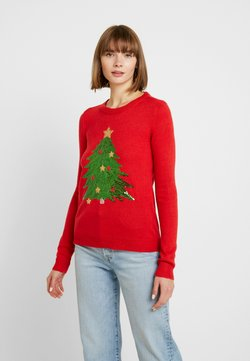 Vero Moda - VMSHINY CHRISTMAS TREE - Jumper - chinese red