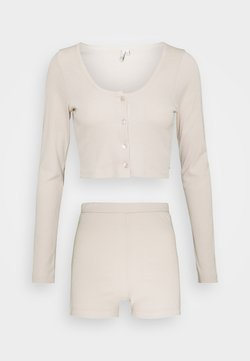 Nly by Nelly - CARDIGAN SET - Gilet - creme