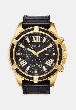 Guess - Montre à aiguilles - black/gold-coloured