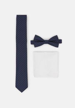 Pier One - SET - Krawatte - dark blue