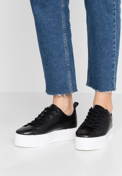 Even&Odd - LEATHER - Sneakers - black