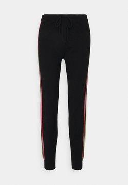 CHINTI & PARKER - STRIPE LEG TRACK PANTS - Trainingsbroek - black/multi