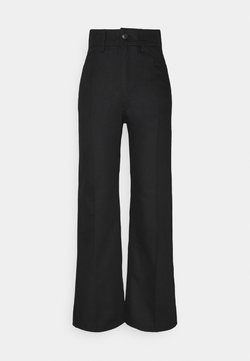 Weekday - NELLIE TROUSER - Jeansy Relaxed Fit - black