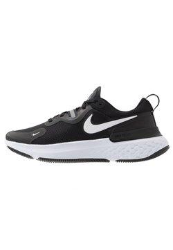 Nike Performance - REACT MILER - Zapatillas de running neutras - black/white/dark grey/anthracite
