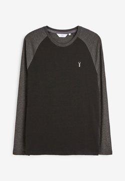 Next - LONG SLEEVE RAGLAN - Langarmshirt - black