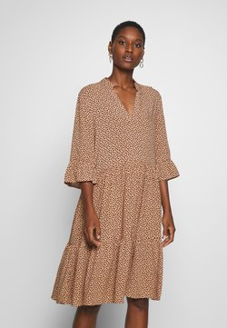 Saint Tropez - EDA DRESS - Maxikjoler - tan/pebbles