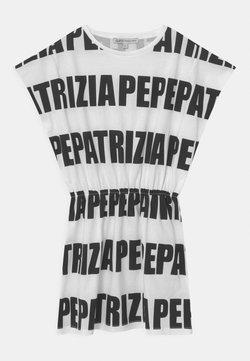 Patrizia Pepe - ABITO LOGO - Jerseykleid - white