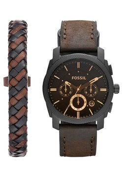 Fossil - MACHINE SET - Montre - dunkelbraun
