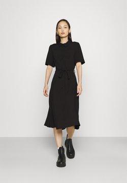 Vila - VIALA MIDI DRESS - Sukienka koszulowa - black