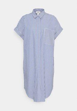 Monki - WANNA DRESS - Paitamekko - blue bright summer stripe